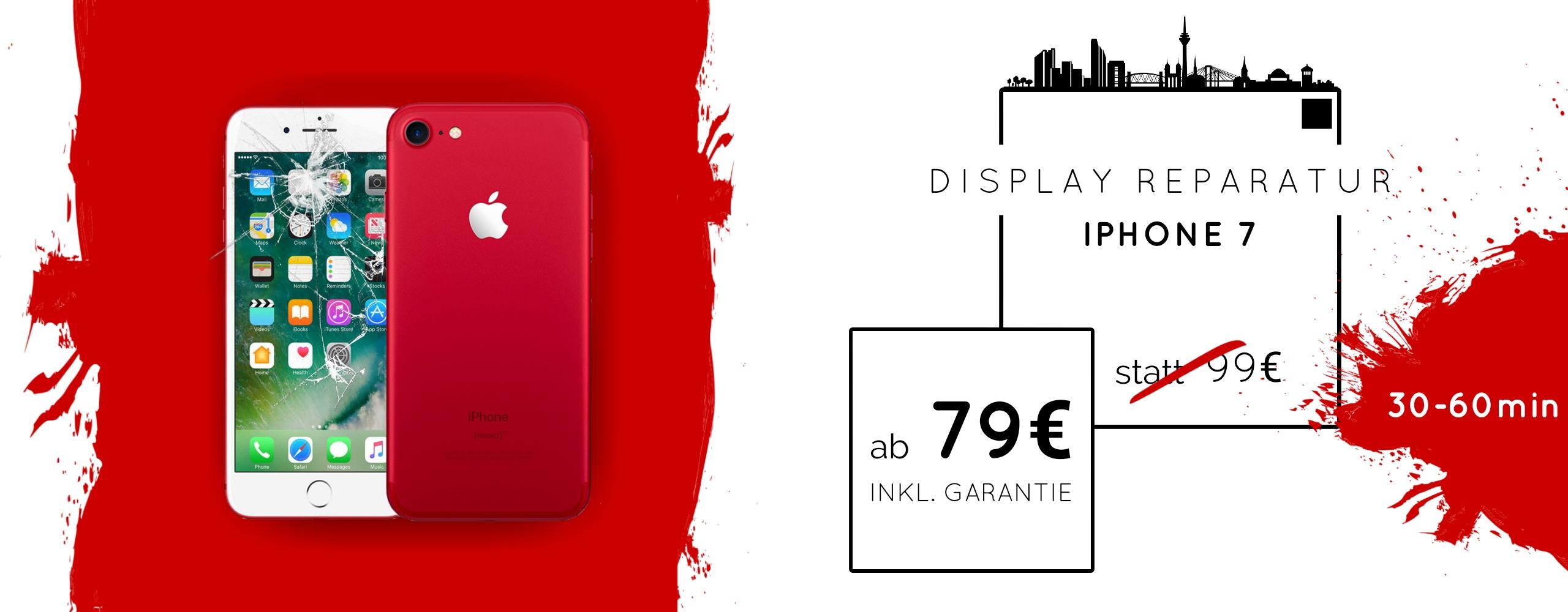 Smartphone Apple iPhone 7 Display Gals Reparatur Austausch