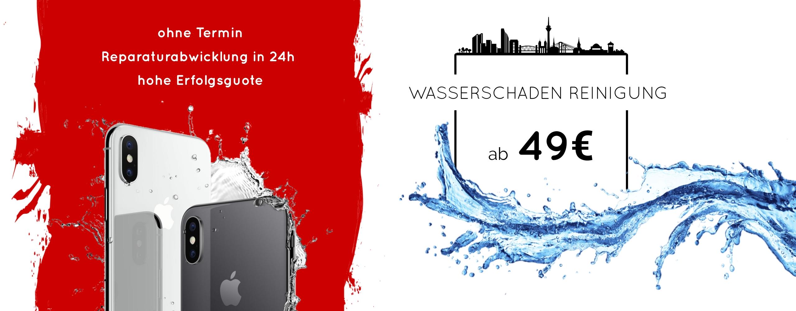 Smartphone Handy Wasserschaden Reinigung Behandlung