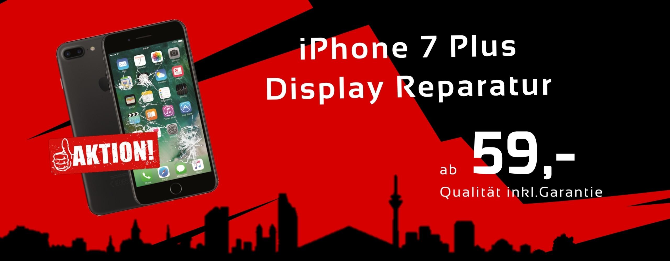 Smartphone Apple iPhone 7 Plus Display Glas Reparatur Preis