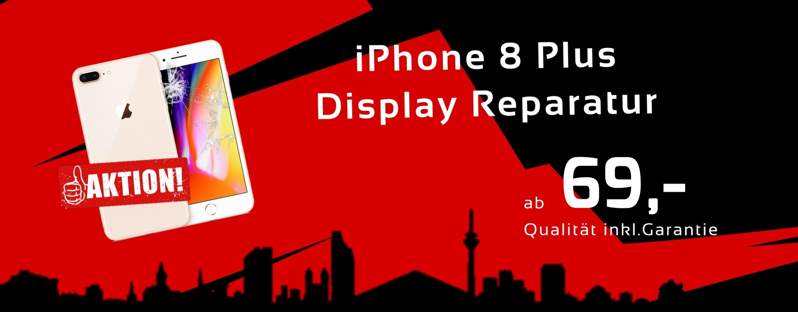 Smartphone Apple iPhone 8 Plus Display Glas Reparatur Preis