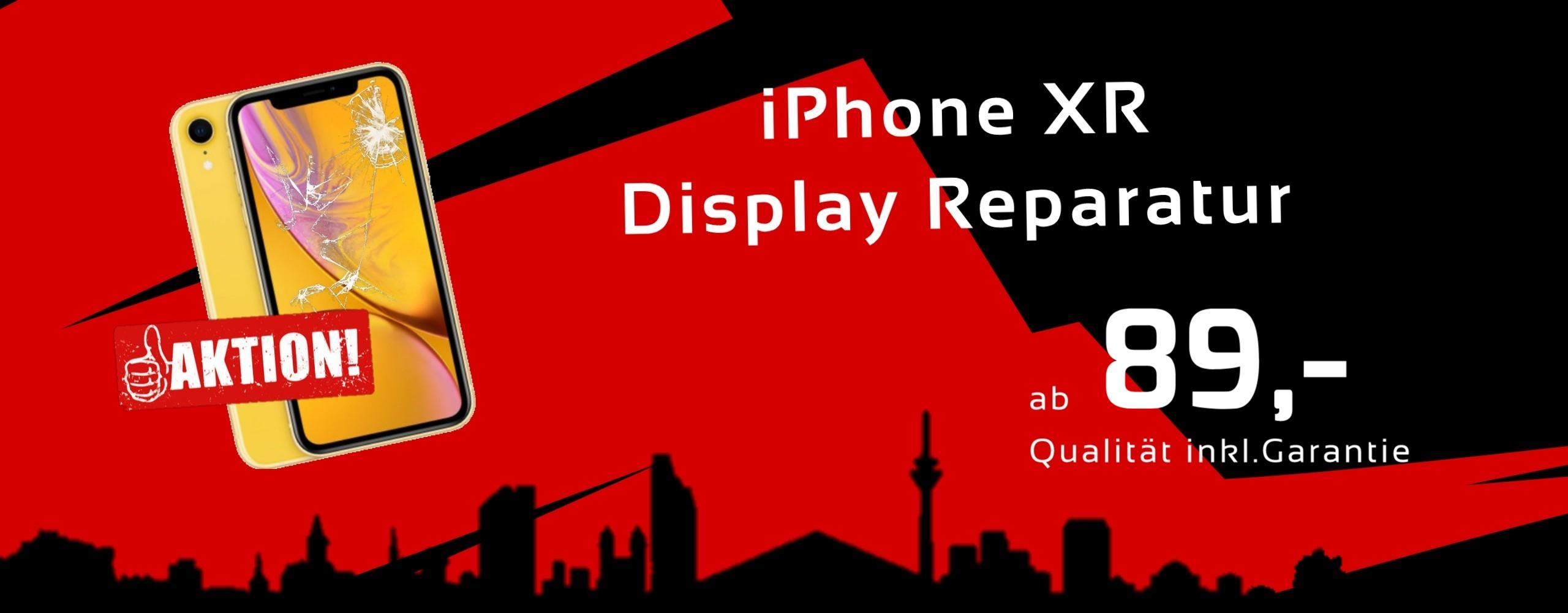 Smartphone Apple iPhone XR Display Glas Reparatur Preis